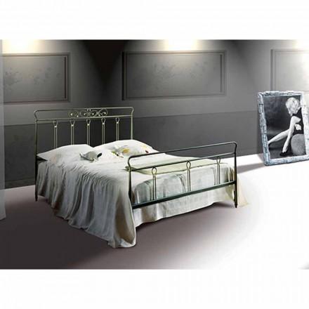 Doppelbett aus Schmiedeeisen Pan