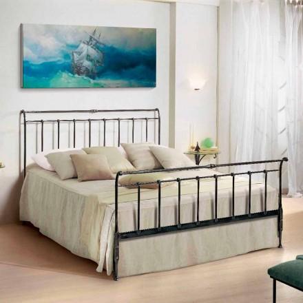 Doppelbett 160x190 cm aus Schmiedeeisen handgefertigt Kate