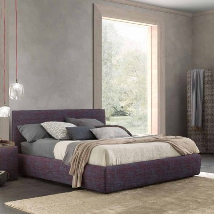 Modernes Doppelbett mit Bettcontainer, Gaya New von Bolzan