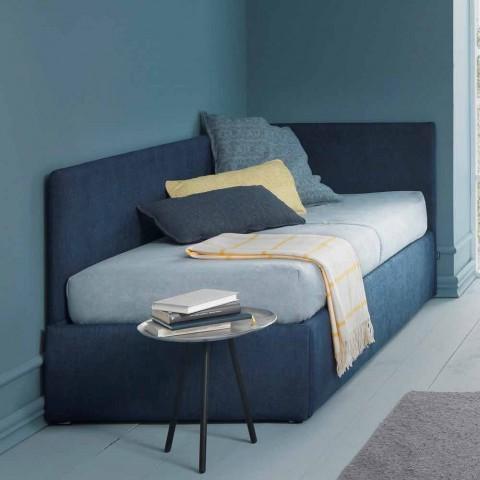 Einzelbett, mit Eckkopfteil und Seitenwand Linie 4 Bozen