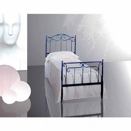 Einzelbett aus Schmiedeeisen Auriga