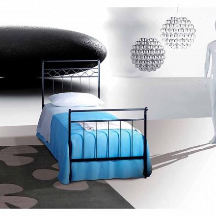 Einzelbett aus Schmiedeeisen Efesto