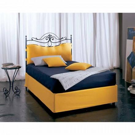 Jugend Queen Size Bett aus Schmiedeeisen Lira