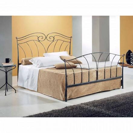 Jugend Queen Size Bett aus Schmiedeeisen Nettuno