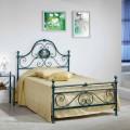 Bett 120x90 cm aus Schmiedeeisen Gloria Made in Italy