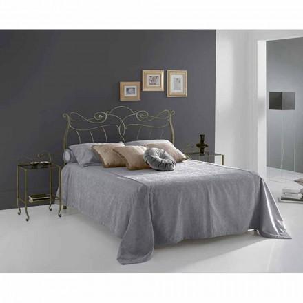 Jugend Queen Size Bett aus Schmiedeeisen Venere