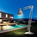 Leucos The Great JJ Design Stehlampe für Außen aus Aluminium