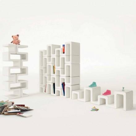 Bücherregal modern Sisma Made in Italy