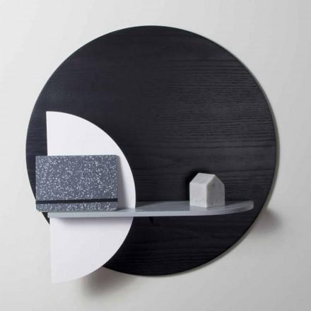 Design Regal in lackiertem Multilayer bestehend aus modularen Paneelen - Livia
