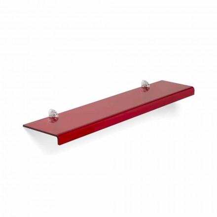 Modernes Design-Regal aus Methacrylat L75xP15 cm Maren