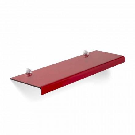 Modernes Design Regal aus Methacrylat L75xD22 cm, Andre