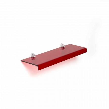 Modernes Design-Regal aus Methacrylat L90xP15 cm, Jack