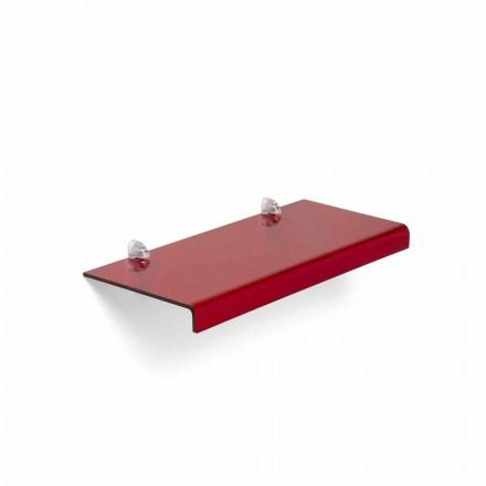 Modernes Design-Regal aus Methacrylat L90xD22 cm, Polly