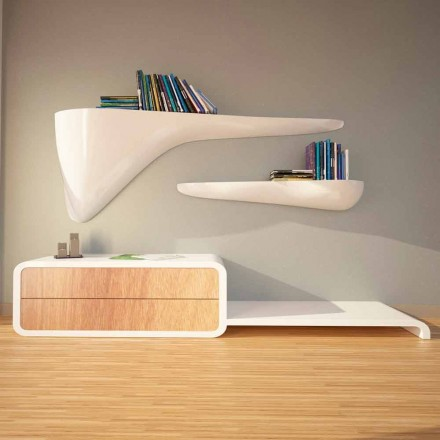 Modernes Design-Regal in Italien, Sizzano hergestellt