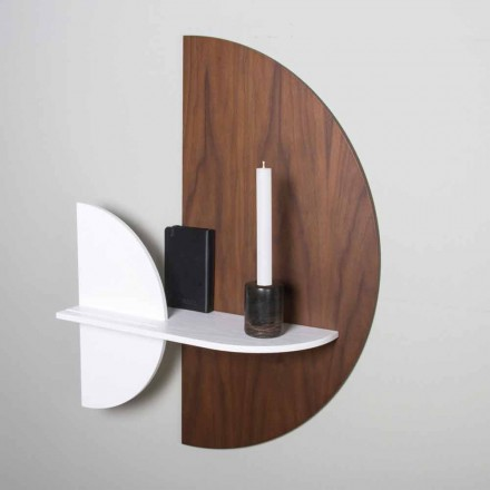 Modulares Regal Elegantes und modernes Design aus lackiertem Sperrholz - Amnesia