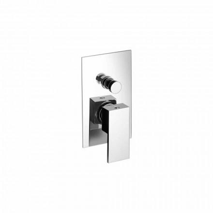 Eingebaute Dusche oder Badewanne Mixer Modernes Design Made in Italy - Panela