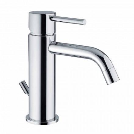 Waschbeckenmischer aus verchromtem Messing Modernes Design Made in Itlay - Liro