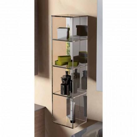 Modernes Design 3-Fach-Speichereinheit, L180xH900 mm, Adelia