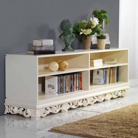 TV Lowboard mit Stauraum für Bücher und Hifi Geräte Rabel