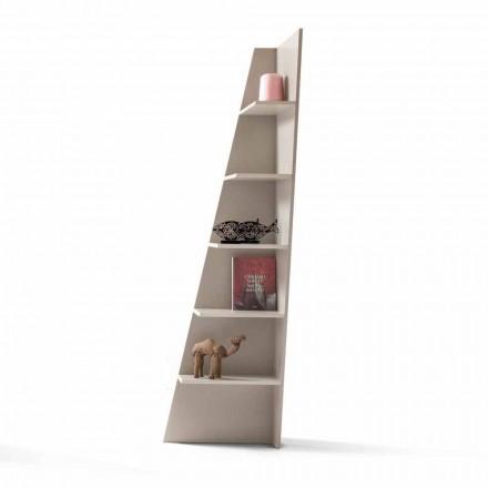 My Home Esquina lackiertes MDF-Design-Eckregal aus Italien