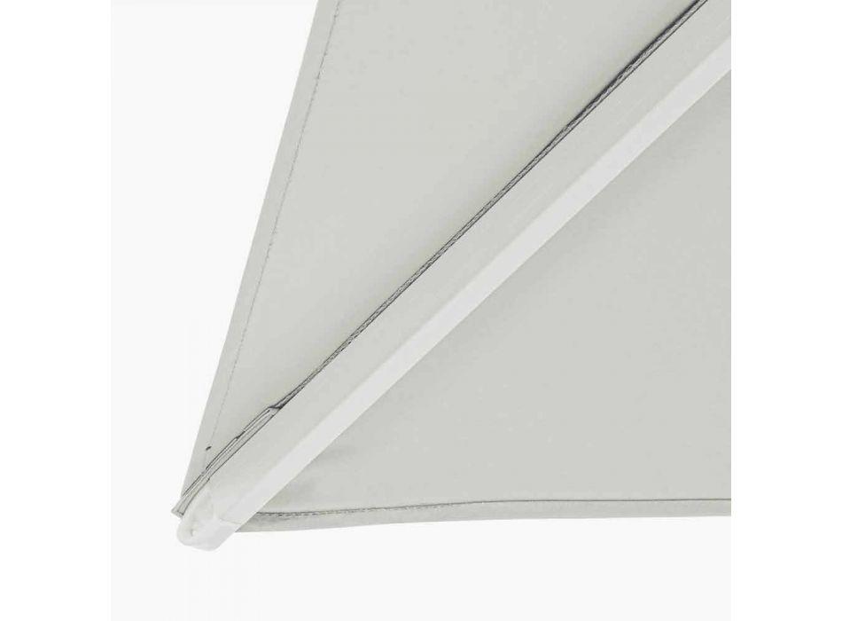 2x3 Außenschirm aus Polyester mit Aluminiumstruktur - Fasma