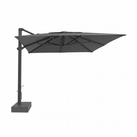 Sonnenschirm, 3x4 mt mit luxuriöser Stoffhülle - Athena von Talenti