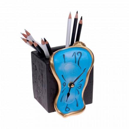 Tisch Design Bleistiftuhr Made in Italy - Figaro