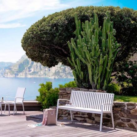 Gartenbank in modernem Design Lady Talenti
