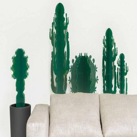 Zierpflanze aus Plexiglas, in verschiedenen Farben, H 102 cm, Prags