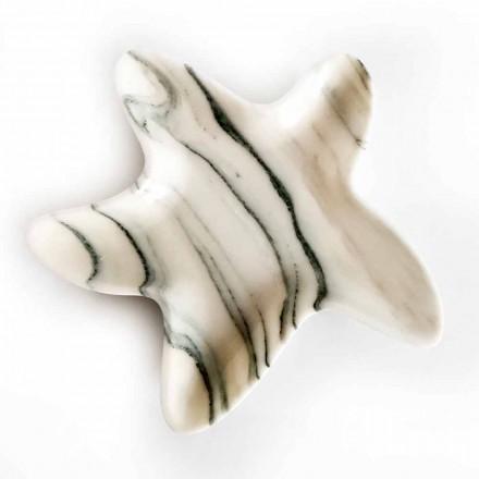 Moderne Marmortasse in Form eines Seesterns Made in Italy - Ticcio