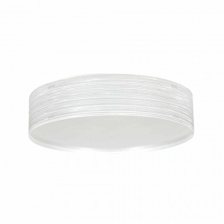 Deckenleuchte 2 Lichter in modernem Design Polypropylen Debby, Durchmesser 45 cm