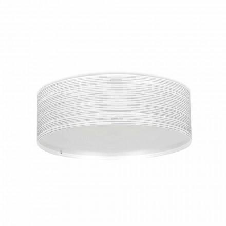 Deckenleuchte 3 Lichter modernes Design aus Polypropylen Debby, Durchmesser 60 cm