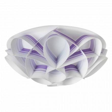 3 Lichter Deckenleuchte in Italien von modernem Design, Durchmesser gemacht. 51 cm, Lena