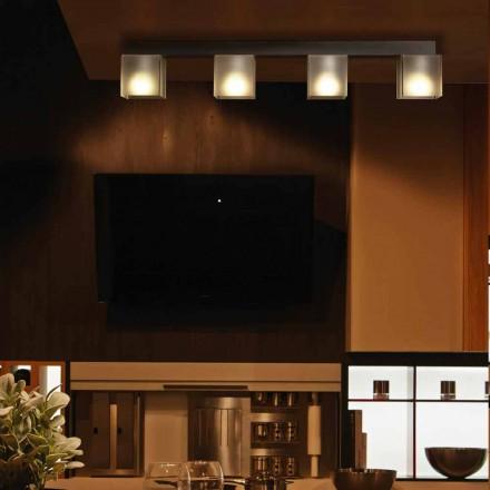 Deckenleuchte mit modernem Design Schatten, L.86 x P.11cm, Matis