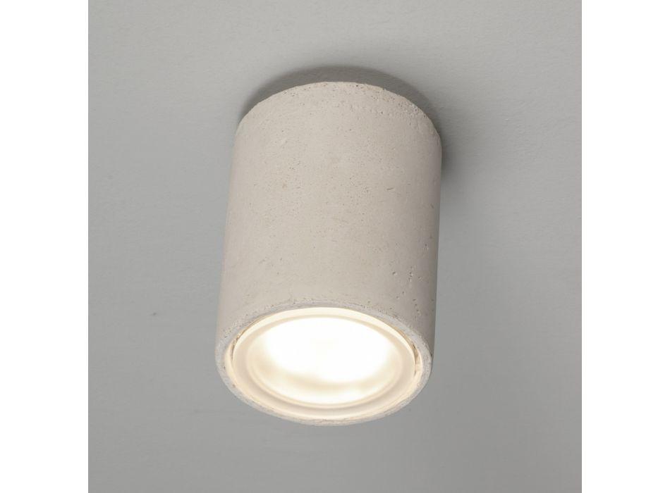 Außen-Deckenlampe aus farbigem Ton, handgefertigt in Italien - Toscot Hans