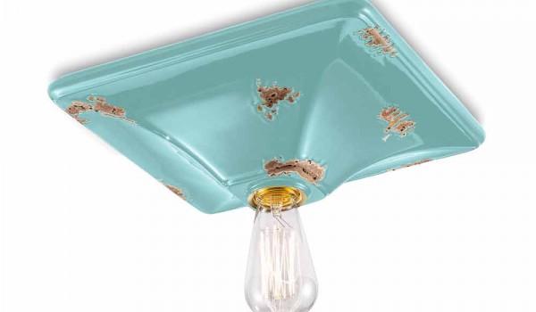 Vasca Da Bagno Karen : Deckenleuchte im retro design aus keramik karen ferroluce