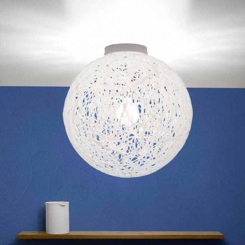 Moderne Design-Deckenleuchte Made in Italy Mady, Durchmesser 48 cm
