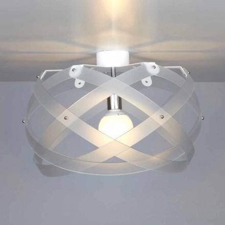 Moderne Design Methacrylat Deckenleuchte Vanna, Durchmesser 40 cm