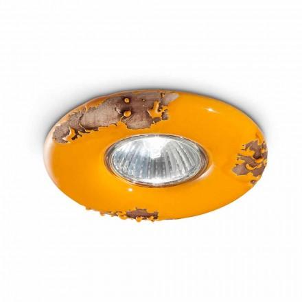 Runde Deckenlampe aus Keramik Paula Ferroluce