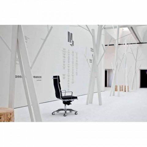 Chefsessel mit Leder-Design-Licht