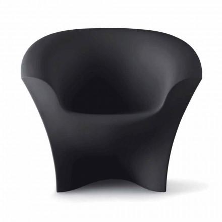 Outdoor Design Sessel aus mattem oder lackiertem Polyethylen Made in Italy - Conda