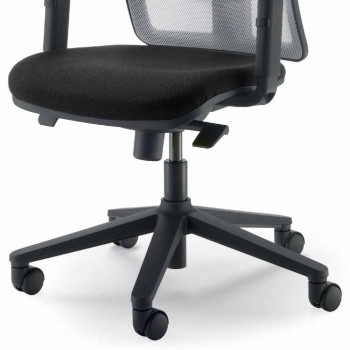 Executive Bürosessel mit hoher Rückenlehne, hergestellt in Italy Amelie