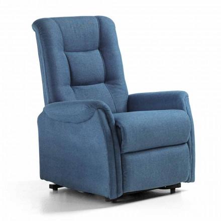 Lift Chair Relax Lift mit 2 Luxusmotoren aus Stoff - Victoire