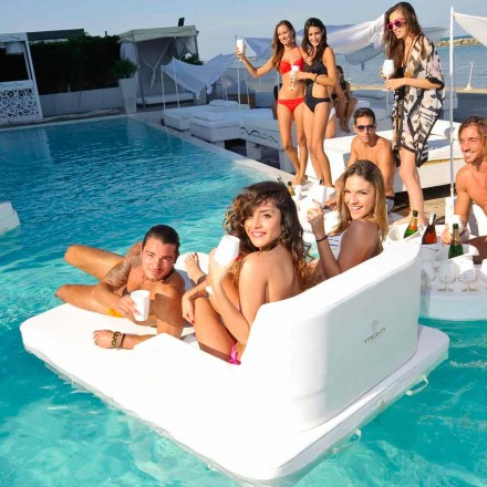 Schwimmendes Loungesofa Magnum