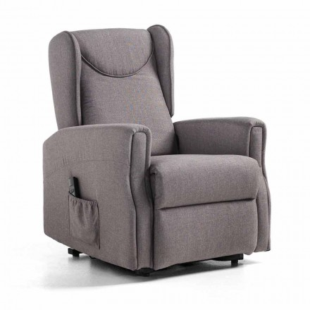 Relax Lift Liegestuhl mit 2 Motoren, hohe Qualität - Nathalie