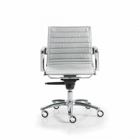 Modernes Design Executive Bürostuhl mit Rollen Licht