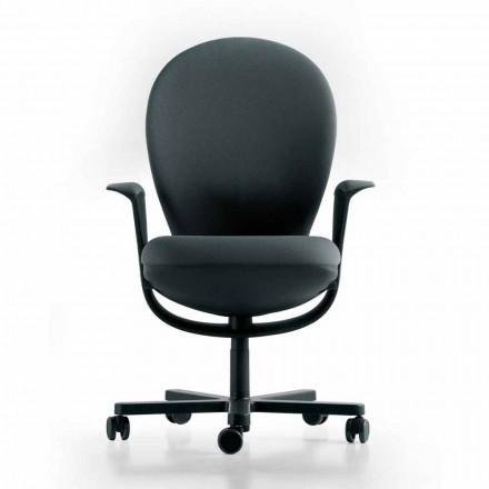 Chefsessel von Design, graue Struktur Bea Luxy