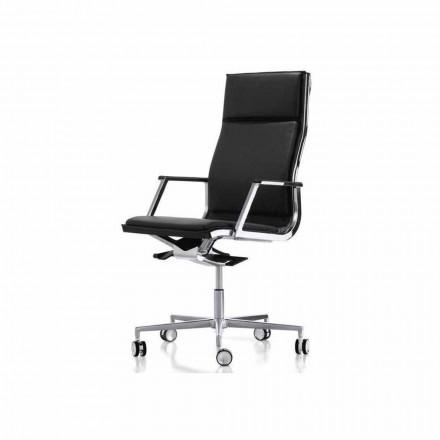 Ergonomische Bürosessel mit Armlehne Modell Nulite Luxy