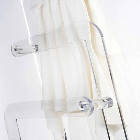 Handtuchhalter aus PMMA-Plexiglas von Zaneta