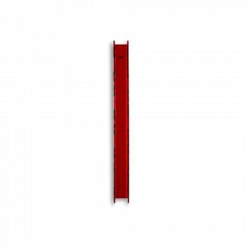 Baby kleine rote Wandlampe Halter L6xH60xP11cm, modernes Design